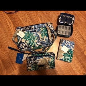 NWT Vera Bradley Santiago Purse, wallet Journal